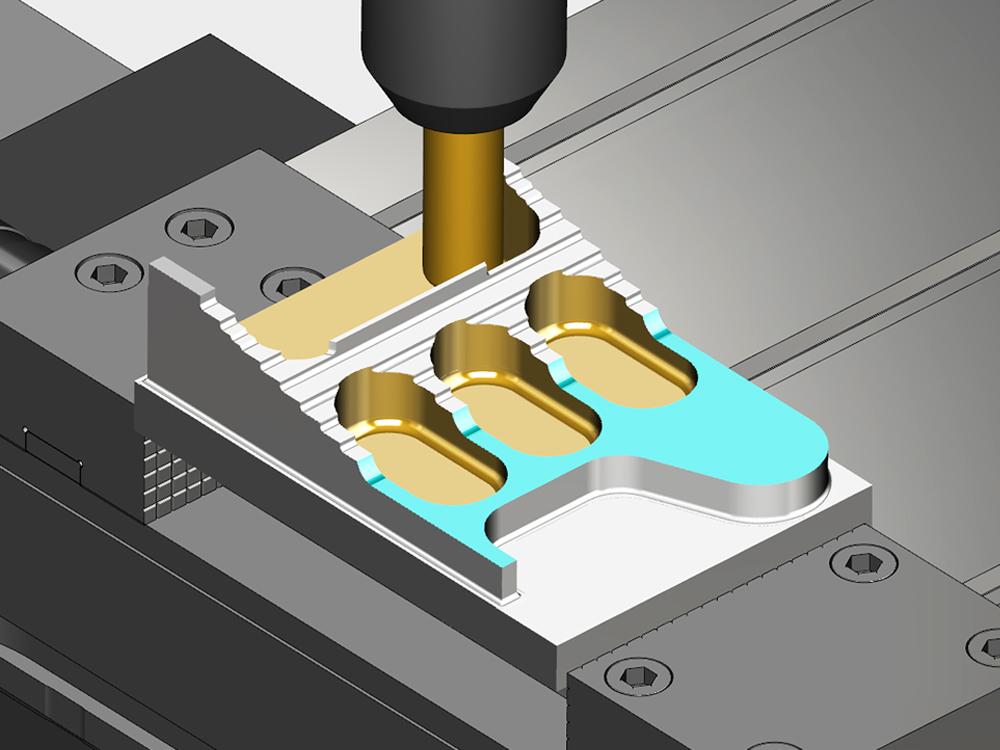 VERICUT permette realistiche simulazioni 3D delle macchine CNC, esattamente come si comportano in officina, con il più accurato controllo di collisioni disponibile sul mercato.